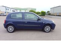 2005 RENAULT CLIO MOT'D TILL NOVEMBER READY TO GO
