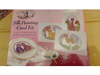 Brand new - Silk Painting Card kit