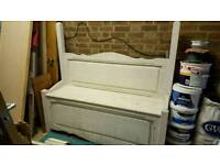 Large storage bench