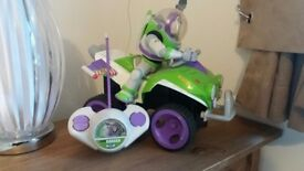 Buzz lightyear remote control toy