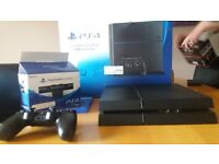 PS4 mint condition 1tb