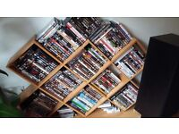 Collection of dvd films