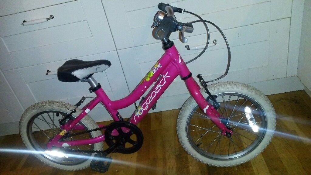 Ridgeback Melody mx16 girls alloy bike used serviced Durham