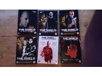 The shield series one to six