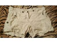 White shorts size 16