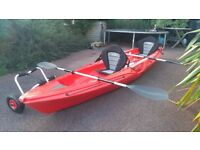 Tahi Marine Tandem sit on Kayak with Extras