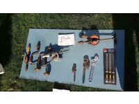 **HAND TOOLS**£5 EACH**SPANNERS**HAND DRILLS**ETC**MORE AVAILABLE**