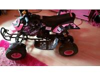 Brand new quad never ever been started bought at xmas