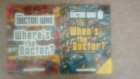 2 Doctor Who Search and Find Books. Brand New