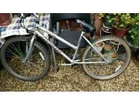 An Apollo Grey Bike spares or repair