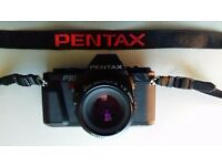 PENTAX P30 with f/2 50 mm smc pentax lens.