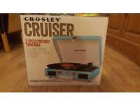 Crosley Cruiser 3- Speed Portable Turntable
