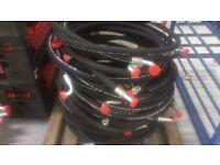 Hydraulic hose job lot