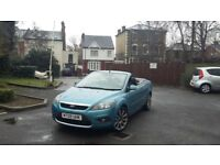 Ford focus convertible 2.0 Automatic new shape Very low mileage 40k
