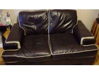 Good Quality Genuine Leather 2 Seater Sofa