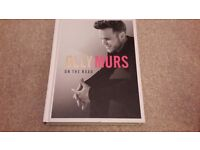 """Olly Murs Hardback Book """"On The Road"""""""