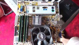 Pentium Duel Core E2160 + 4Gb RAM + Asus IPIBL-LB Motherboard bundle