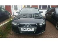 Audi a4 estate 2013 back