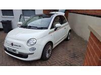 Fiat 500 0.9 Twin air lounge Free road tax