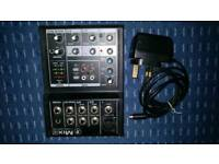 Mackie Mix-5 5 channel compact mixer