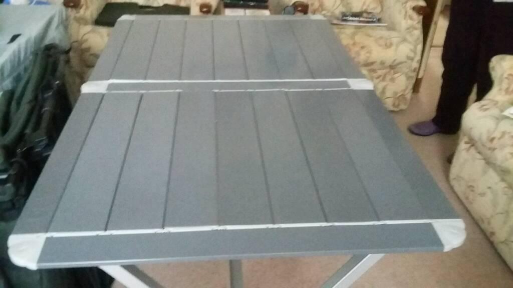 Trigonometry fold up table