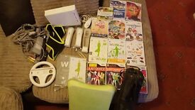 Wii and wii fit console bundle