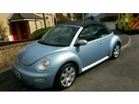 Beautiful beetle convertible new mot low miles onky 2 owners
