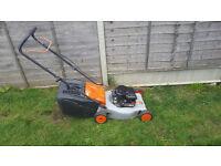 Flymo Petrol Lawn mower 18 inch