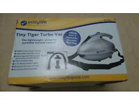 Easylife Tiny TigerTurbo Vacuum Cleaner - New in Box Never Used