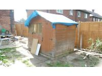 Shed sides and door, spares and repairs.