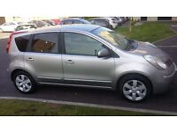 2008 Nissan Note 1.6 petrol,Mot 12 months,only 48000 mileage,full service histor,excellent condition