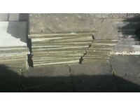 patio slabs, good condition