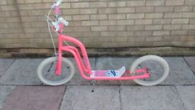 Child's large wheeled scooter