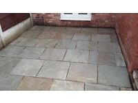 Indian Sandstone flags