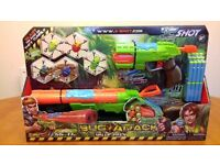 X SHOT BUG ATTACK SHOOTING GAME LIKE NERF BOYS TOYS UNWANTED GIFT AS NEW