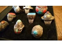 Collection of Antique Rings