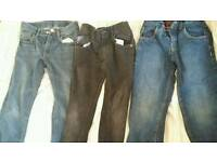 Boys shorts and jeans 7-8