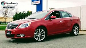 2017 Buick Verano Leather Leather, ESTATE TRADE, NOT DRIVEN,...