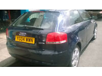 AUDI A3 1.6 FSI 2004 FACELIFT LOW MILES PART EXC TO CLEAR