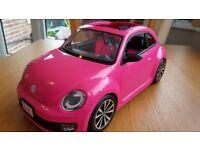 Barbie VW Pink car