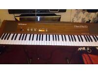 ROLAND PIANO PLUS 70 DIGITAL PIANO 75 KEYS MODEL HP-70 ELECTRIC KEYBOARD