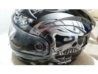 Viper motorcycle helmet