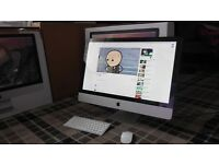 IMAC 2011 - i5 - 3.1 GHz - 27 inch 2K - QUAD CORE - 2TB hdd - 8GB ram - 1GB GPU Clean fully working