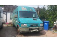 Iveco Daily Spares and repair - good engine & gear box, low mileage, poor bodywork