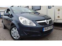 2007 VAUXHALL CORSA 1.2 A/C BLUE NEW MOT NEW TIMMING CHAIN EXCELLENT CONDITION