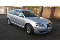 2005(55)AUDI A3 2.0 FSi SE MET SILVER,6 SPEED,CLEAN CAR,GREAT VALUE