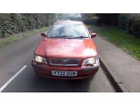 2001 Volvo V40 1.6 Estate (LOW MILEAGE)