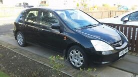 2001 Honda Civic 5-Door 1.6