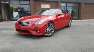 2013 Infiniti G37 SPORT COUPE TECH PKG  / M6 /  NAVI /49K ONLY