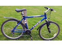 "TREK MOUNTAIN BIKE..20"" FRAME ..21 GEARS ..MUDGUARDS..GREAT CONDITIONS..."
